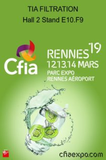 Exhibition Booth Invitation : Join us to 2019 cfia exhibition tia